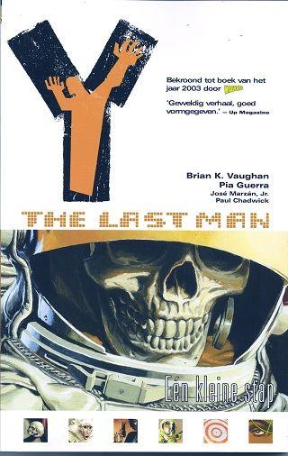 Y the Last Man Volume 03: Eén kleine stap Conditie: Tweedehands, als nieuw De Vliegende Hollander 1