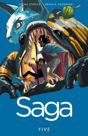 Saga Volume 5 Conditie: Tweedehands, als nieuw Image 1