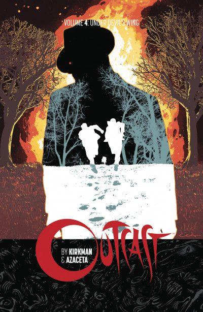 Outcast Volume 4: Under Devils Wing Conditie: Tweedehands, als nieuw Image 1