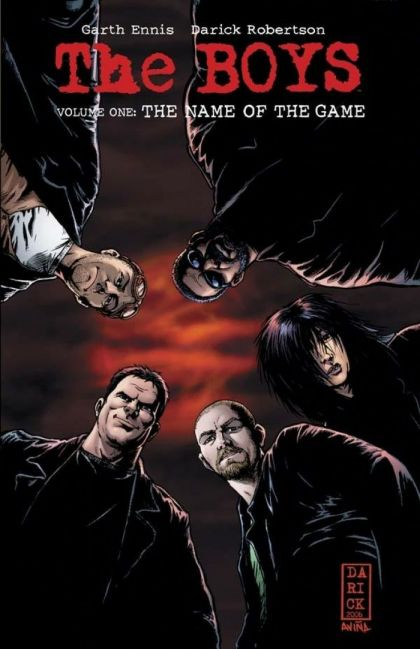 The Boys Volume 01: The Name of the Game Conditie: Tweedehands, als nieuw Dynamite Entertainment 1