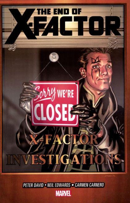 X-Factor [Vol 3] Book 21: The End of X-Factor Conditie: Tweedehands, als nieuw Marvel 1
