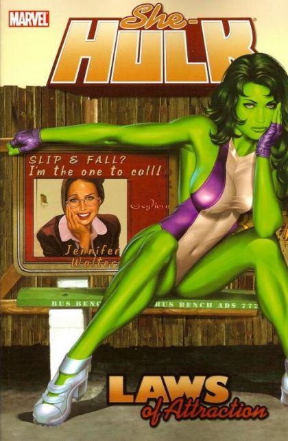 She-Hulk Volume 04: Laws of Attraction Conditie: Tweedehands, als nieuw Marvel 1