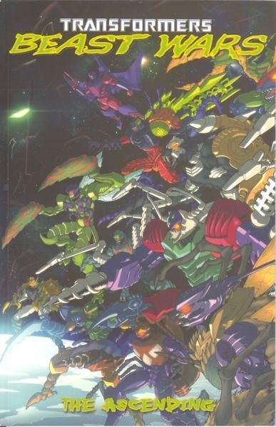 Transformers: Beast Wars Volume 2: The Ascending Conditie: Tweedehands, goed IDW 1