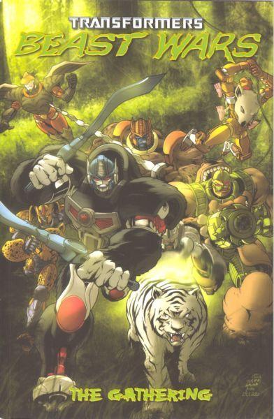 Transformers: Beast Wars Volume 1: The Gathering Conditie: Tweedehands, redelijk IDW 1