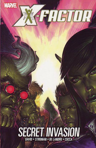 X-Factor [Vol 3] Book 06: Secret Invasion Conditie: Tweedehands, als nieuw Marvel 1
