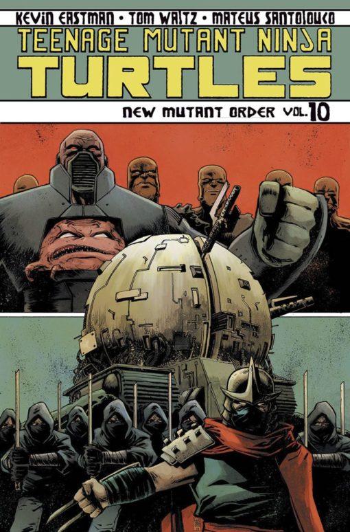 Teenage Mutant Ninja Turtles Ongoing Volume 10 Conditie: Tweedehands, als nieuw IDW 1