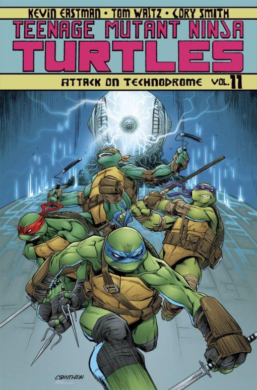 Teenage Mutant Ninja Turtles Ongoing Volume 11 Conditie: Tweedehands, als nieuw IDW 1