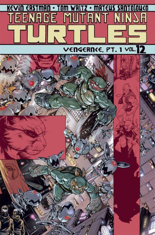 Teenage Mutant Ninja Turtles Ongoing Volume 12 Conditie: Tweedehands, als nieuw IDW 1