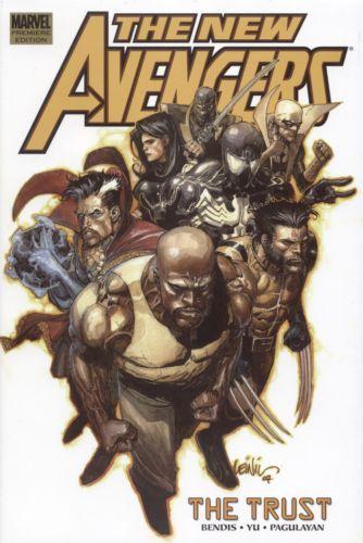New Avengers [Vol 1] Volume 07: The Trust [HC] Conditie: Tweedehands, als nieuw Marvel 1