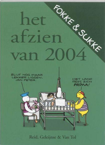 Fokke & Sukke: Het afzien van 2004 Conditie: Tweedehands, goed De Harmonie 1