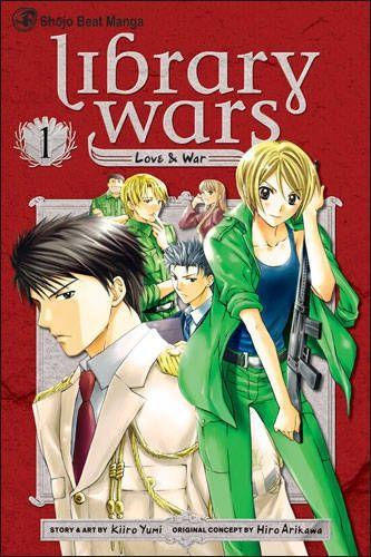 Library Wars Volume 01 Conditie: Tweedehands, als nieuw Viz Comics 1
