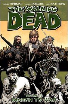 The Walking Dead Volume 19: March to War Conditie: Tweedehands, als nieuw Image 1