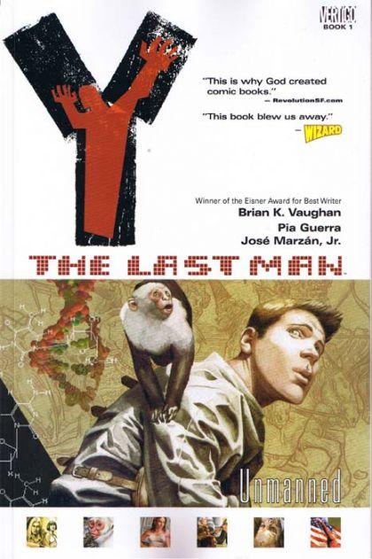 Y the Last Man Volume 1: Unmanned Conditie: Tweedehands, als nieuw Vertigo 1