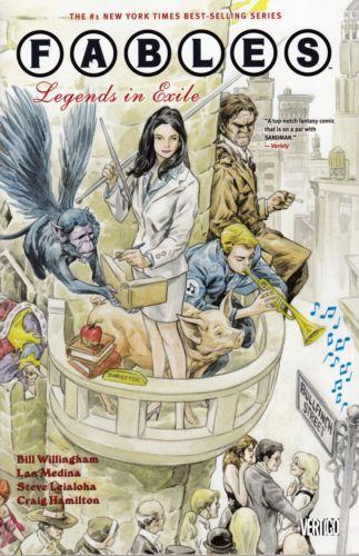 Fables Volume 01 Conditie: Tweedehands, als nieuw Vertigo 1