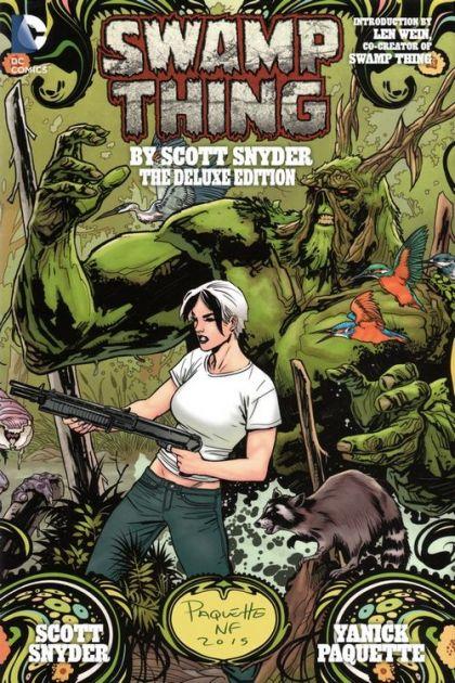 Swamp Thing By Scott Snyder HC - The Deluxe Edition Conditie: Tweedehands, als nieuw DC 1