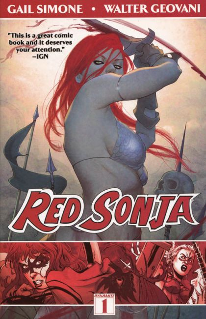 Red Sonja [Vol. 2] Volume 1: Queen of the Plagues Conditie: Nieuw Dynamite Entertainment 1