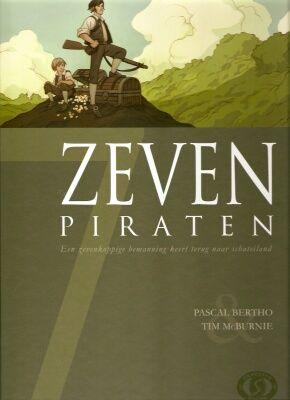 Zeven Deel 3: Zeven Piraten Conditie: Tweedehands, als nieuw Silvester Strips 1