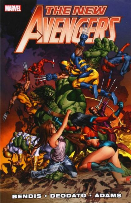 New Avengers Volume 03 Conditie: Tweedehands, goed Marvel 1