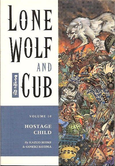 Lone Wolf and Cub Volume 10: Hostage Child Conditie: Tweedehands, goed Dark Horse 1