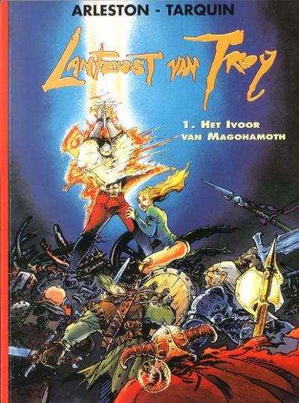 Lanfeust van Troy Volume 01: Het ivoor van Mogohamoth Conditie: Tweedehands, goed Talent 1