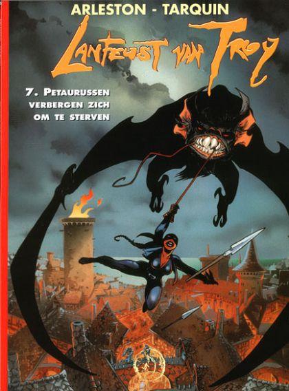 Lanfeust van Troy Volume 07: Petaurussen verbergen zich om te sterven Conditie: Tweedehands, als nieuw Talent 1