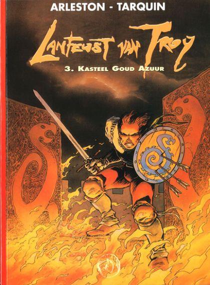 Lanfeust van Troy Volume 03: Kasteel Goud Azuur Conditie: Tweedehands, als nieuw Talent 1