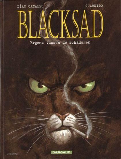 Blacksad Volume 01: Ergens Tussen De Schaduwen Conditie: Tweedehands, goed Dargaud 1