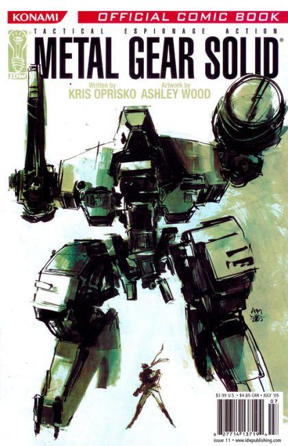 Metal Gear Solid #11 Conditie: Tweedehands, goed IDW 1