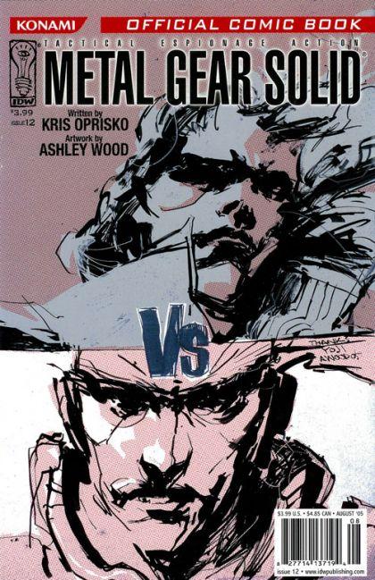 Metal Gear Solid #12 Conditie: Tweedehands, goed IDW 1