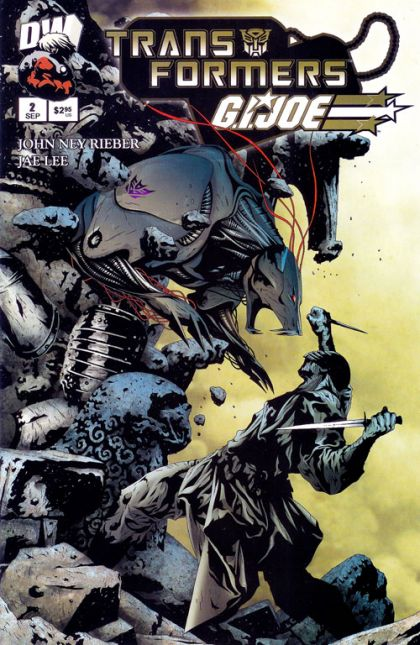 Transformers / G.I. Joe #2 - Transformed Conditie: Tweedehands, goed Dreamwave Productions 1