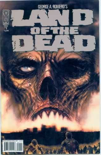Land of the Dead #1-5 Complete Set 1