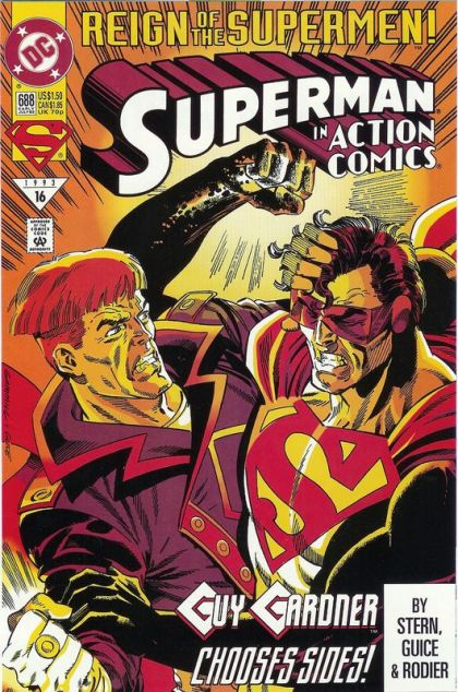 Action Comics, Vol. 1 #688 - Part 5: An Eye For An Eye Conditie: Goed DC 1
