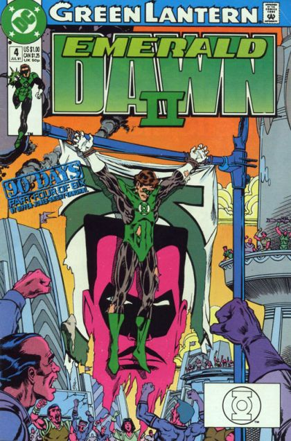 Green Lantern: Emerald Dawn II #4 - The Will To Power Conditie: Goed DC 1