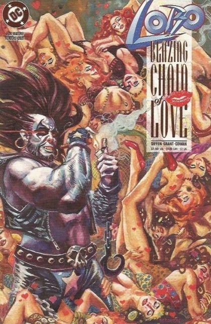 Lobo: Blazing Chain of Love #1 - Blazing Chain of Love Conditie: Goed DC 1