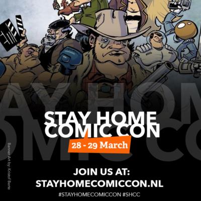 Stay Home Comic Con!   1