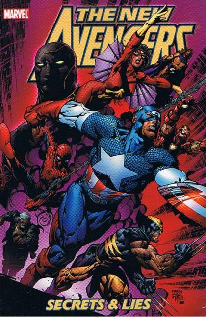 New Avengers [Vol. 1] Volume 3: Secrets & Lies Conditie: Tweedehands, goed Marvel 1