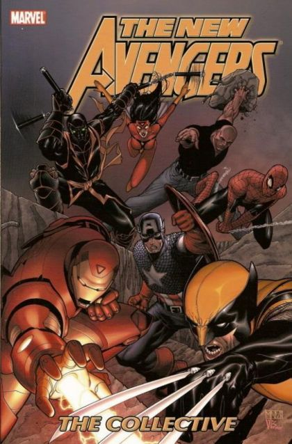 New Avengers [Vol. 1] Volume 4: The Collective Conditie: Tweedehands, goed Marvel 1
