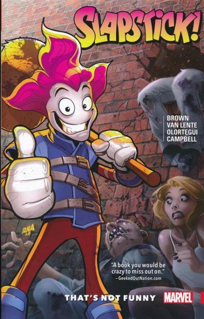 Slapstick [Vol. 2]: That's Not Funny Conditie: Tweedehands, als nieuw Marvel 1