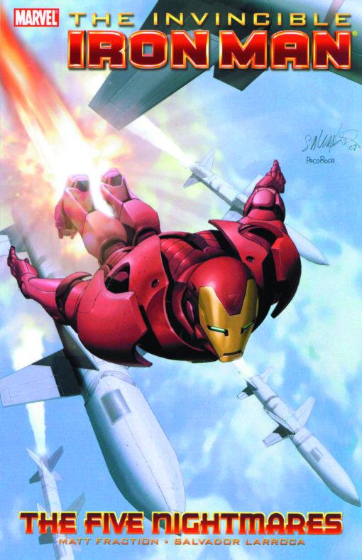 The Invincible Iron Man: The Five Nightmares Conditie: Tweedehands, als nieuw Marvel 1