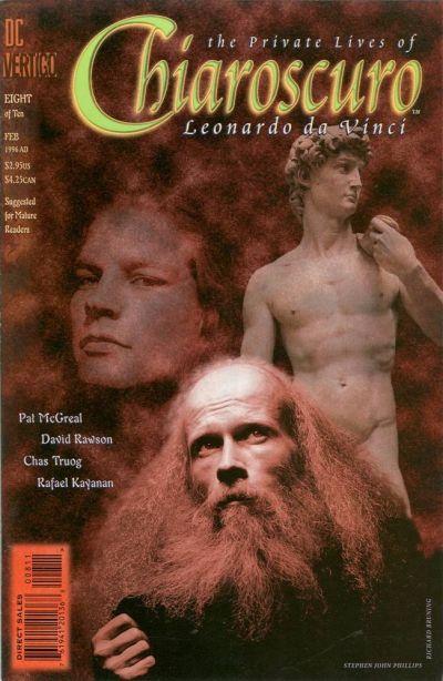 Chiaroscuro: The Private Lives of Leonardo Da Vinci #8 - Chiaroscuro - The Private Lives of Leonardo Da Vinci Conditie: Goed DC 1