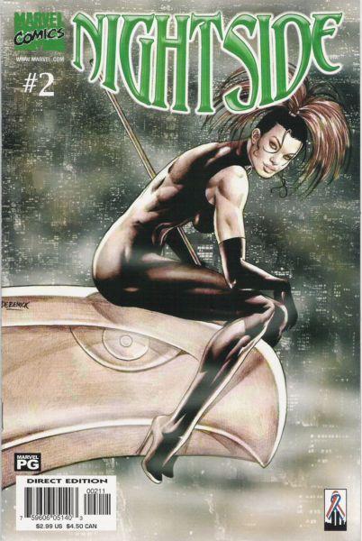 Nightside #2 - Ikkyu's Skull, Part 2: Enter The Princess Conditie: Goed Marvel 1
