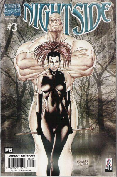 Nightside #3 - Ikkyu's Skull, Part 3: The Devil Inside Conditie: Goed Marvel 1