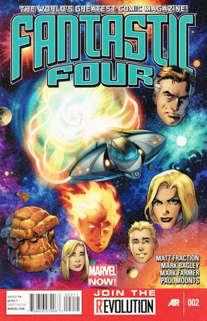 Fantastic Four, Vol. 4 #2A - Voyagers Conditie: Goed Marvel 1