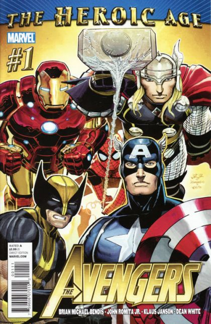 The Avengers, Vol. 4 #1A - The Heroic Age - Next Avengers, Part 1 Conditie: Goed Marvel 1