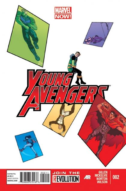 Young Avengers, Vol. 2 #2A - DYS Conditie: Goed Marvel 1