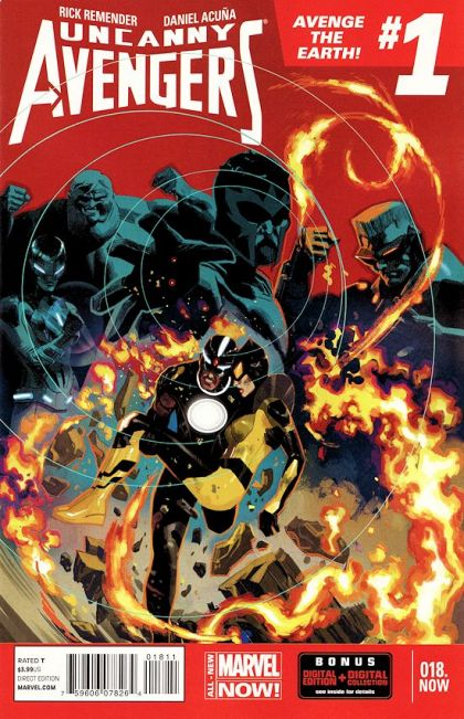 Uncanny Avengers, Vol. 1 #18.NOW-A - Avenge the Earth, Part One Conditie: Goed Marvel 1