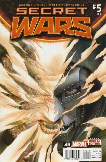 Secret Wars (2015) #5A - Secret Wars, Owen Reece Died for Our Sins Conditie: Goed Marvel 1