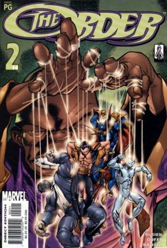 The Order, Vol. 1 #2 - It's Our World Conditie: Goed Marvel 1