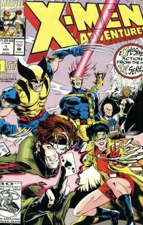 X-Men Adventures, Vol. 1 #1 - Night Of The Sentinels Conditie: Goed Marvel 1