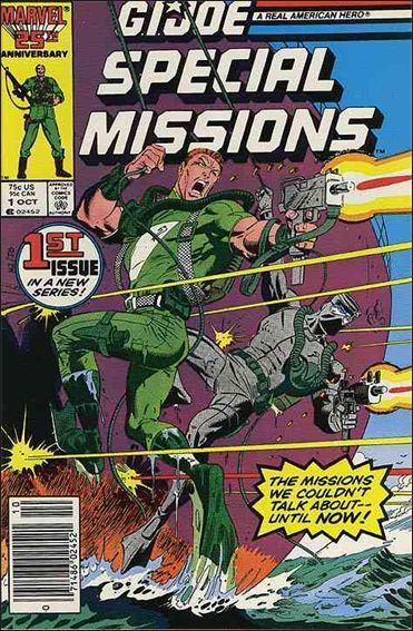 G.I. Joe: Special Missions, Vol. 1 #1 - That Sinking Feeling Conditie: Goed Marvel 1
